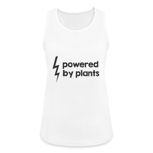 Powered by plants - Frauen Tank Top atmungsaktiv