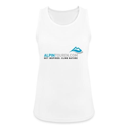 Alpintouren Logo - Frauen Tank Top atmungsaktiv