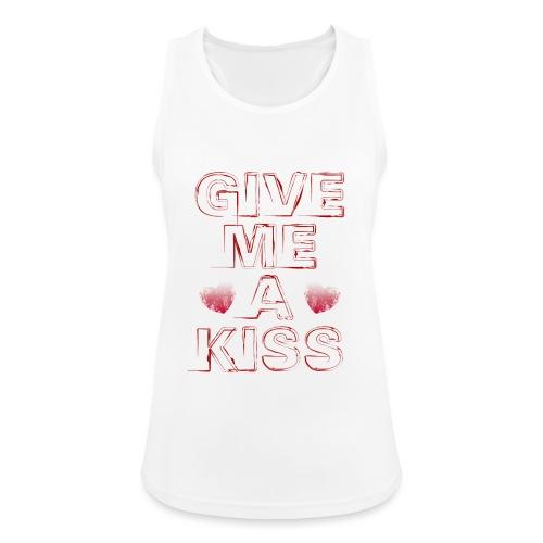 kiss - Top da donna traspirante