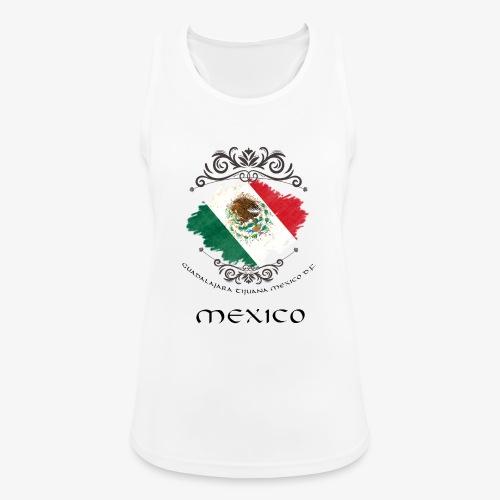 Mexico Vintage Bandera - Frauen Tank Top atmungsaktiv