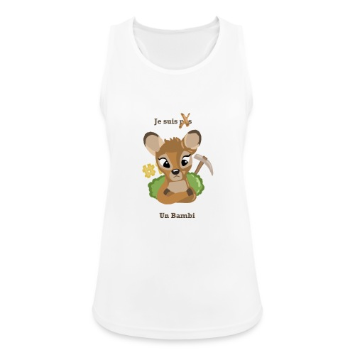 Je suis un bambi - Débardeur respirant Femme