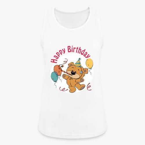 Little bear - Happy Birthday - Women's Breathable Tank Top