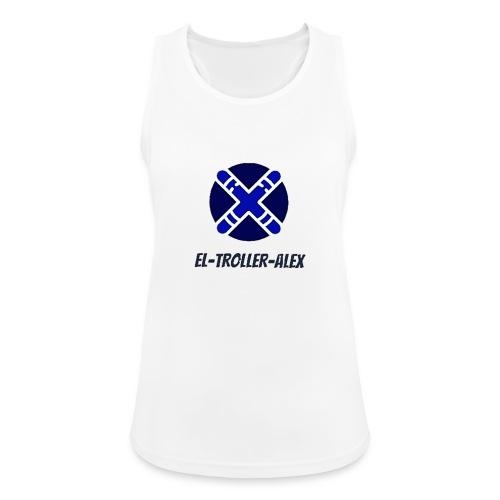 DISEÑO EL TROLLER ALEX EVO - Camiseta de tirantes transpirable mujer