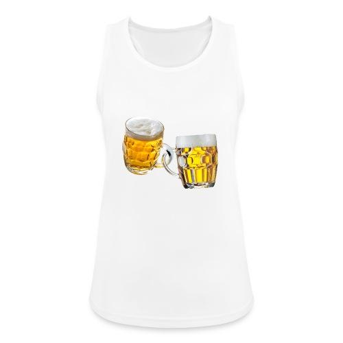 Boccali di birra - Top da donna traspirante