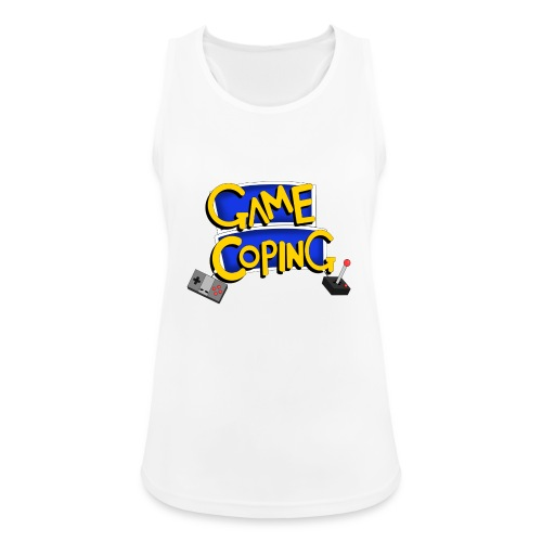 Game Coping Logo - Women's Breathable Tank Top