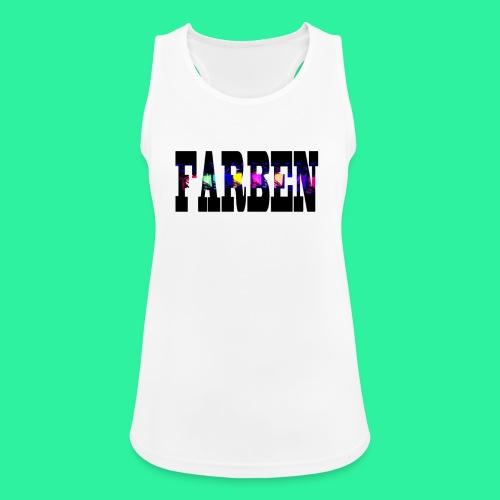 FARBEN - Frauen Tank Top atmungsaktiv