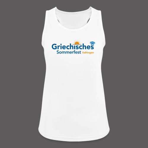 Griechisches Sommerfest Vaihingen - Frauen Tank Top atmungsaktiv