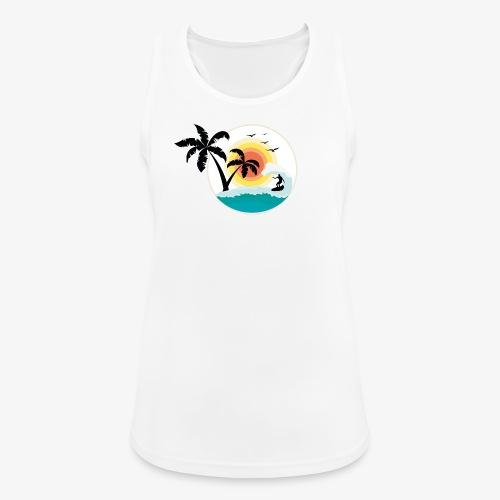 Surfing in paradise - Frauen Tank Top atmungsaktiv