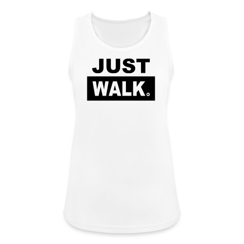 JUST WALK vrouwen zw - Vrouwen tanktop ademend actief
