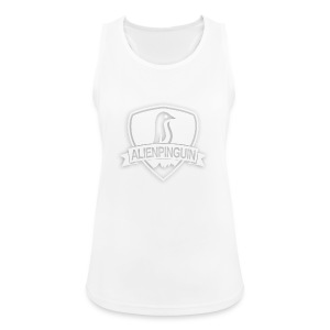AlienPinguin Logo Vector - Frauen Tank Top atmungsaktiv