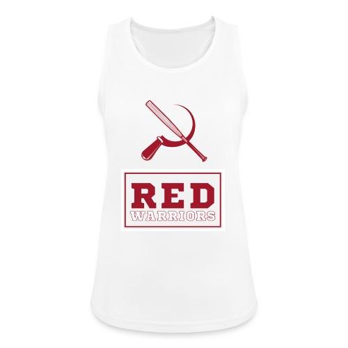 Red Warriors Logo2 - Débardeur respirant Femme
