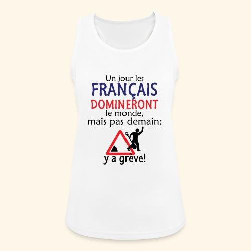 domination française - Débardeur respirant Femme