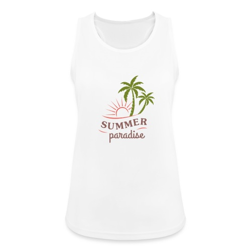 Summer paradise - Women's Breathable Tank Top