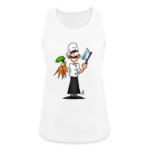 The vegetarian chef - Women's Breathable Tank Top