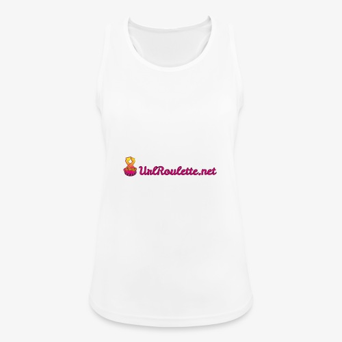 UrlRoulette Logo - Women's Breathable Tank Top