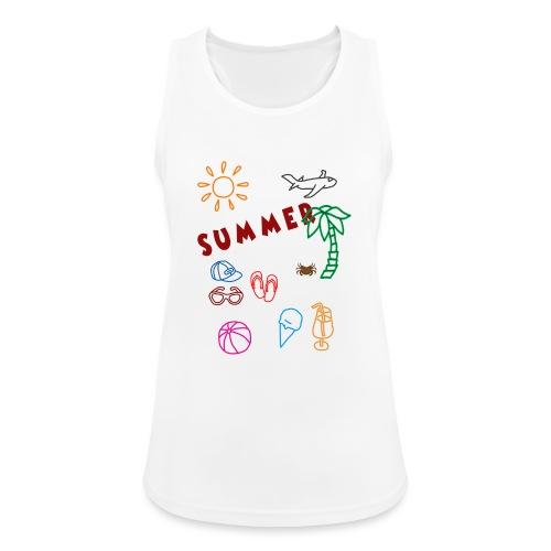 Summer - Naisten tekninen tankkitoppi