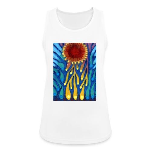 Chore Słońce - Tank top damski oddychający