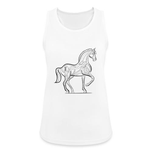 Equus Pferd - Frauen Tank Top atmungsaktiv
