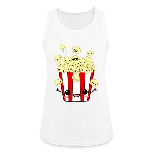 PopCorn - Camiseta de tirantes transpirable mujer