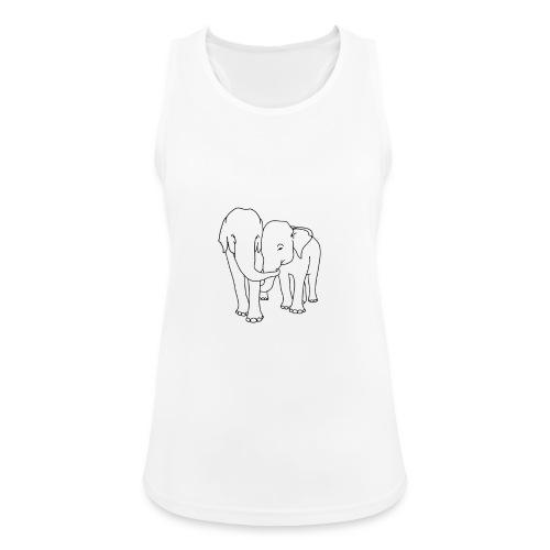 Olifanten - Vrouwen tanktop ademend actief