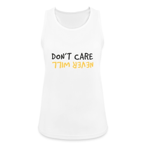 Don't Care, Never Will by Dougsteins - Women's Breathable Tank Top