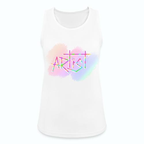 Artist in Colors - Camiseta de tirantes transpirable mujer