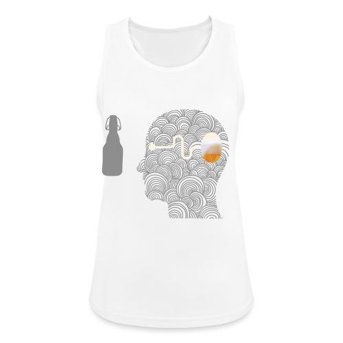 WYSIWYG Beer Shirt - Frauen Tank Top atmungsaktiv