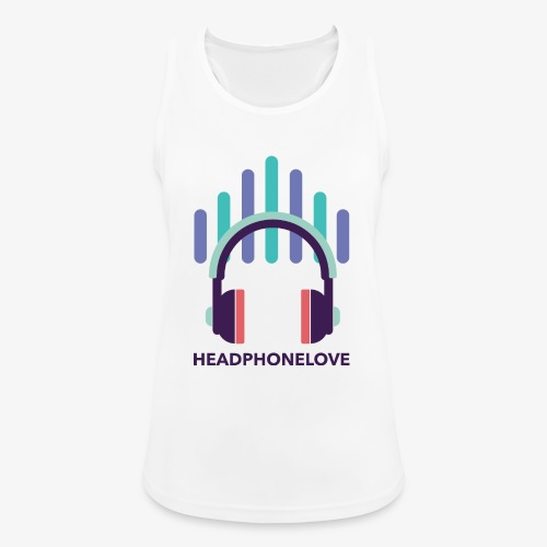 headphonelove - Frauen Tank Top atmungsaktiv