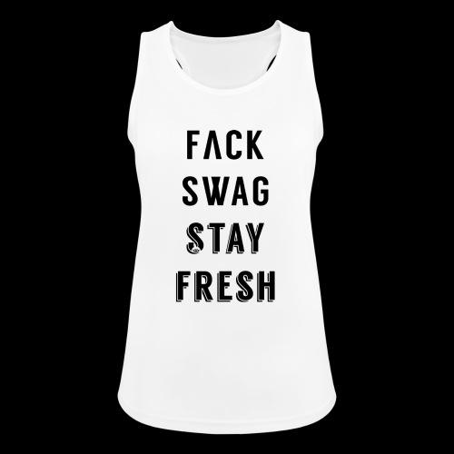 Fack Swag Tee - Camiseta de tirantes transpirable mujer