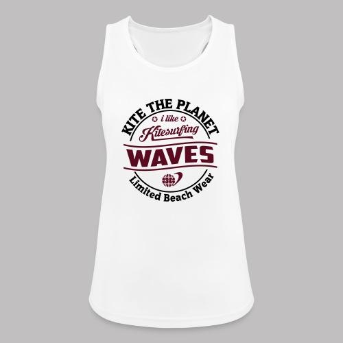waves water ktp - Frauen Tank Top atmungsaktiv