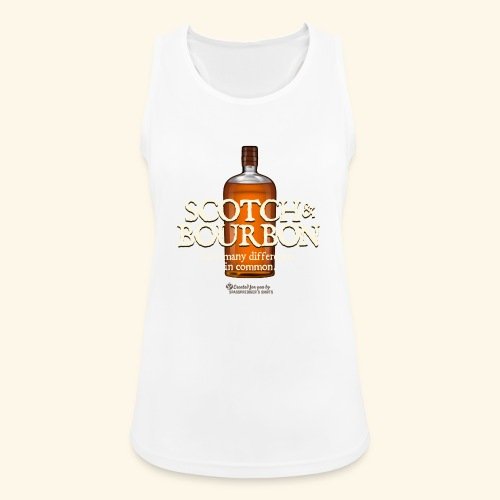 Whisky Spruch Scotch & Bourbon - Frauen Tank Top atmungsaktiv