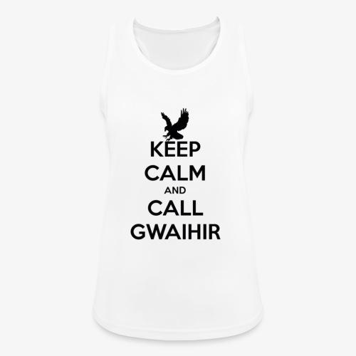Keep Calm And Call Gwaihir - Women's Breathable Tank Top