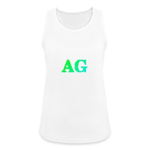 ATG Games logo - Naisten tekninen tankkitoppi
