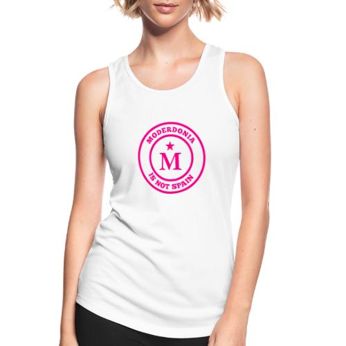 Moderdonia is not Spain rosa - Camiseta de tirantes transpirable mujer