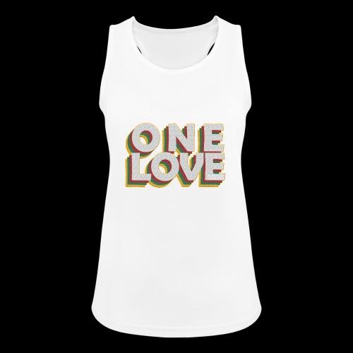 ONE LOVE - Frauen Tank Top atmungsaktiv