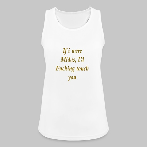 I hate you, basically. - Women's Breathable Tank Top