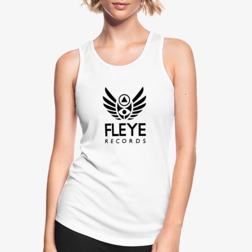 Fleye Records (Black Logo Design) Tøj m.m. - Dame tanktop åndbar