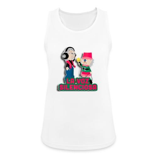 La voz silenciosa - Jose y Arpelio - Camiseta de tirantes transpirable mujer