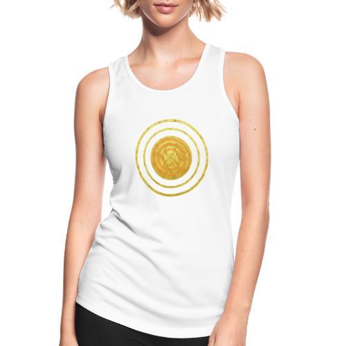 Glückssymbol Sonne - positive Schwingung - Spirale - Frauen Tank Top atmungsaktiv