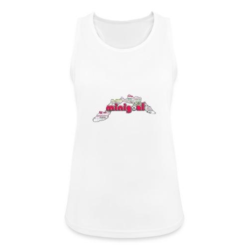Maglietta Donna Liguria - Top da donna traspirante