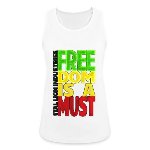 Freedom is a must - Women's Breathable Tank Top