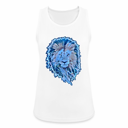 LEON Melena AZUL CUT 2000 MARJEN AZUL - Camiseta de tirantes transpirable mujer