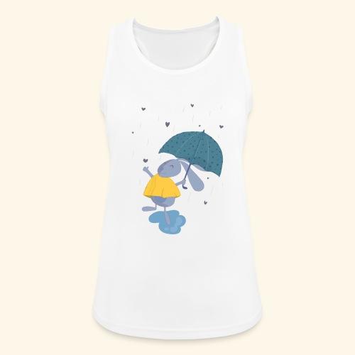 happy in the rain - Women's Breathable Tank Top