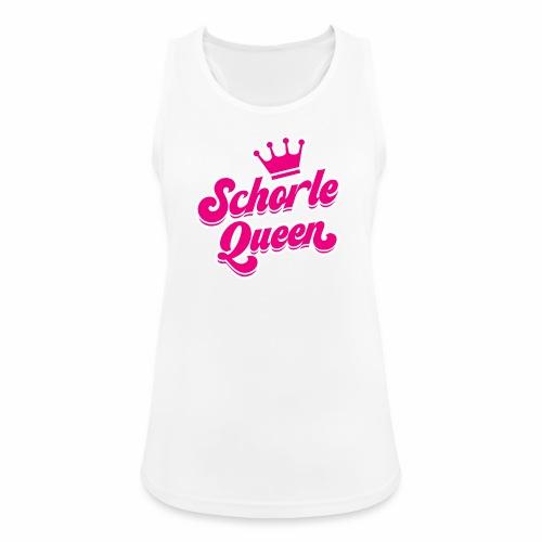 Schorle Queen - Frauen Tank Top atmungsaktiv