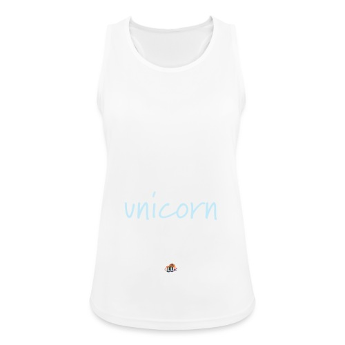 Crazy Unicorn - Dark - Women's Breathable Tank Top