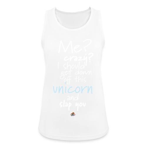 Crazy Unicorn - Dark - Women's Breathable Tank Top