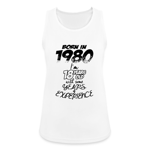 born In1980 - Women's Breathable Tank Top