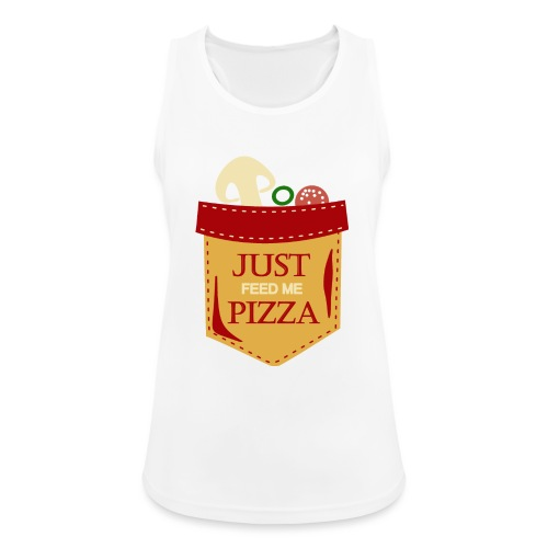 Dammi solo la pizza - Top da donna traspirante