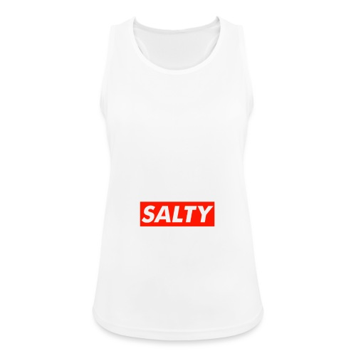 Salty white - Women's Breathable Tank Top