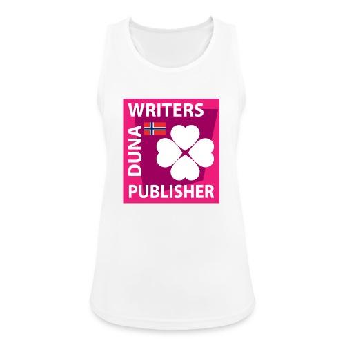 Duna Writers Publisher Pink - Pustende singlet for kvinner